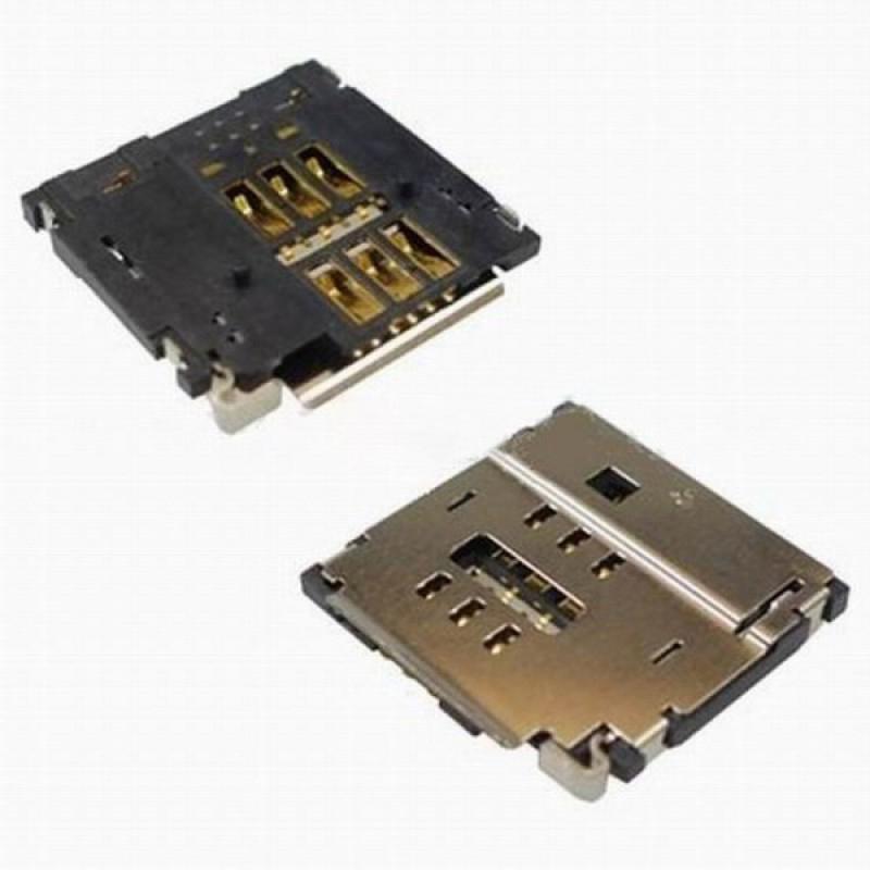 Коннектор SIM-карты для iPhone 4 orig