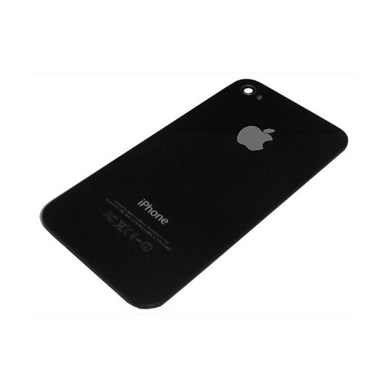 Задняя крышка iPhone 4 чёрная high copy