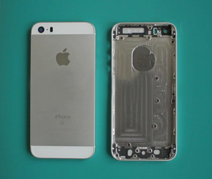 Задняя крышка корпус iPhone SE белая high copy