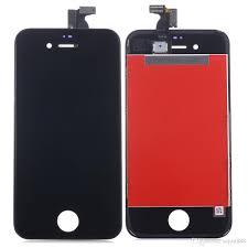 Оригинальный дисплей iPhone 4S черный (LCD экран, тачскрин, стекло в сборе)