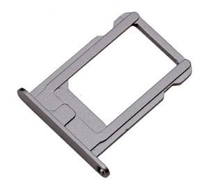 Держатель SIM-карты для iPhone 5S/ SE серебристый orig