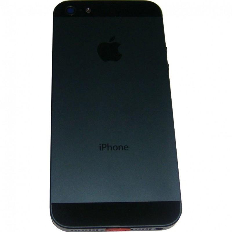 Задняя крышка корпус iPhone 5 чёрная orig