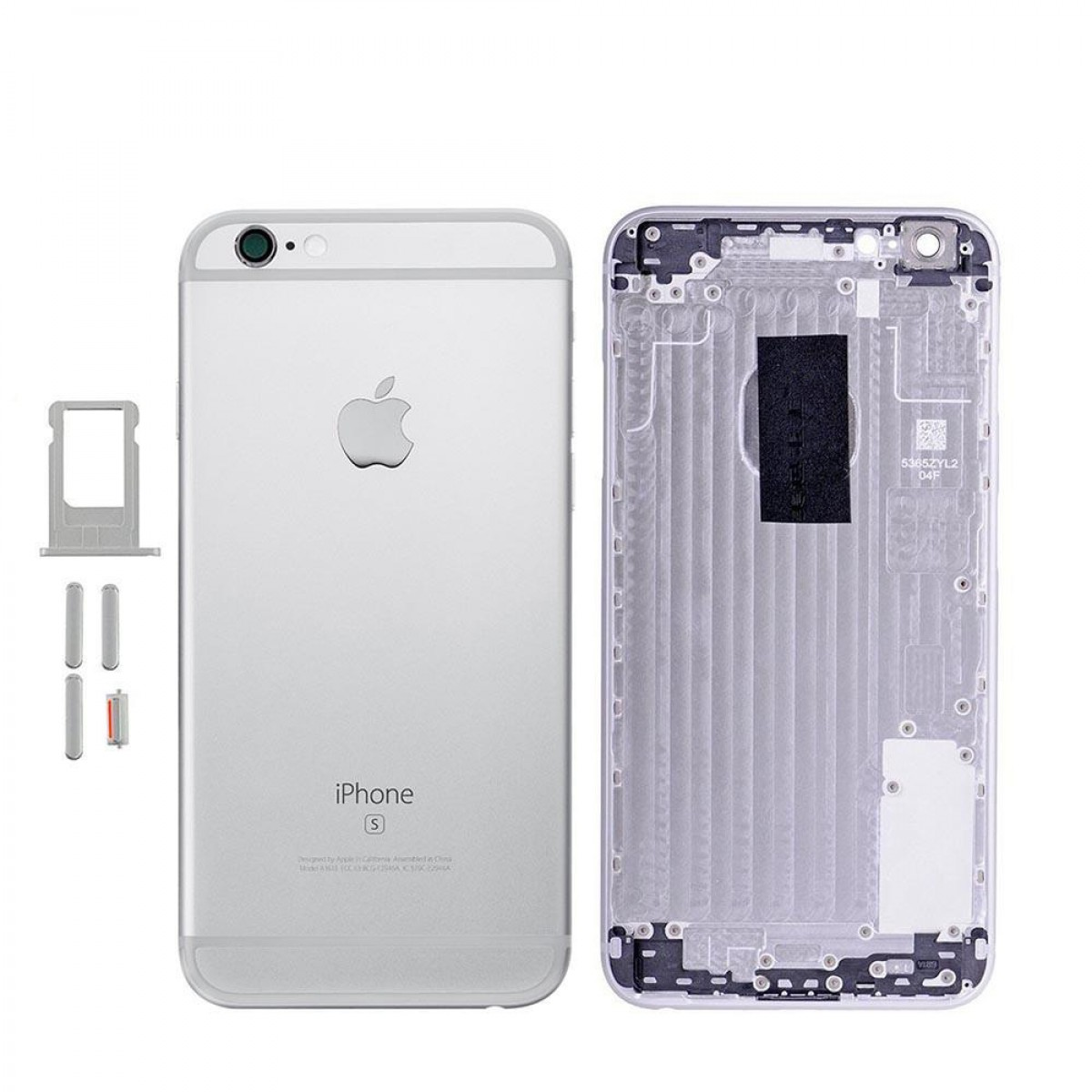 Задняя крышка корпус iPhone 6S Plus серебро