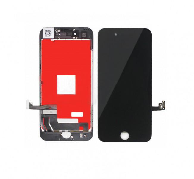 Дисплей iPhone 7 черный (LCD экран, тачскрин, стекло в сборе) high copy