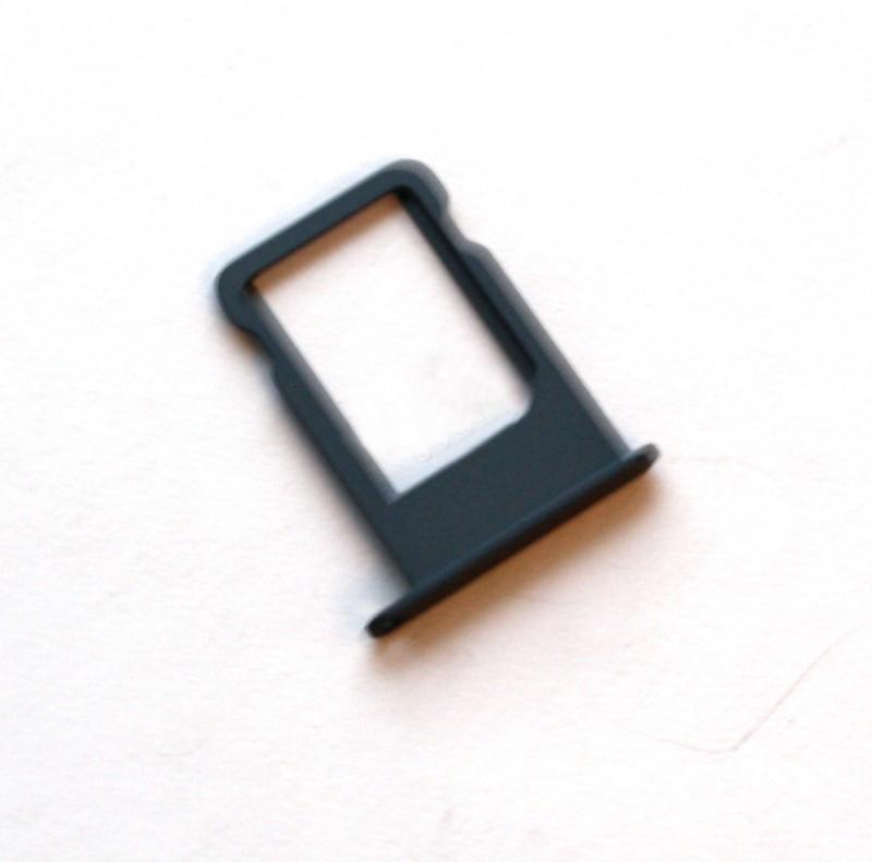 Держатель SIM-карты для iPhone 5 чёрный orig