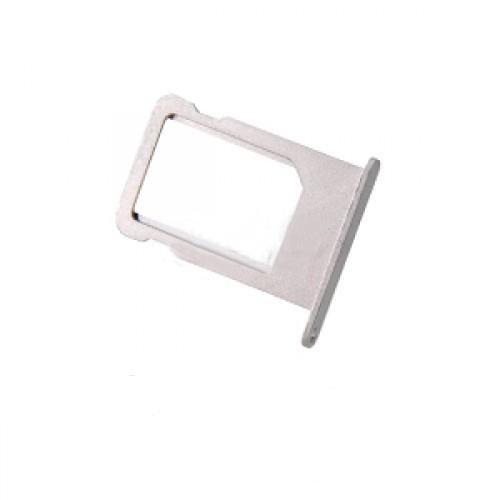 Держатель SIM-карты для iPhone 5 серебро orig