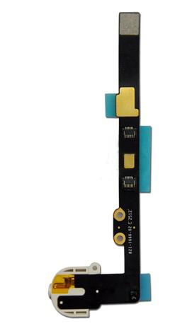 Шлейф (Flat cable) iPad Air с конектором наушников белый orig