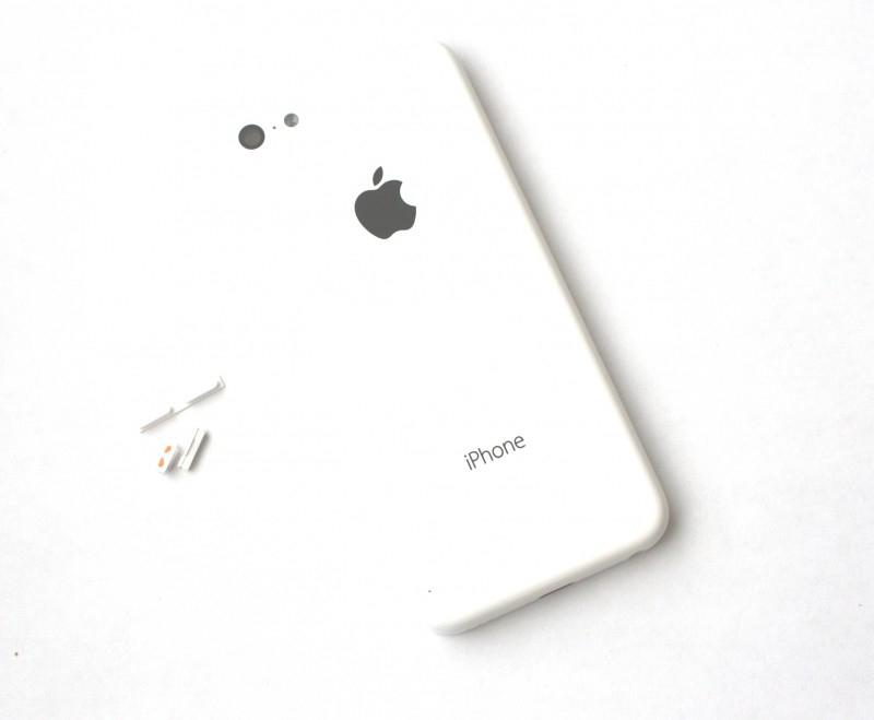 Задняя крышка корпус iPhone 5C белая orig