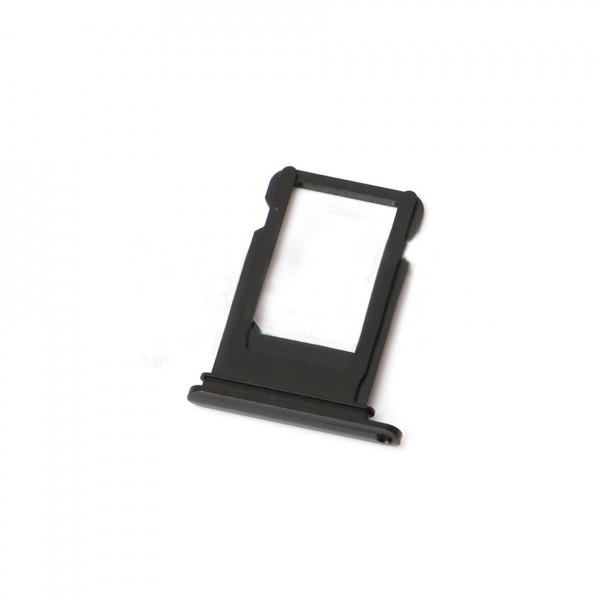 Держатель SIM-карты для iPhone 7, чёрный orig