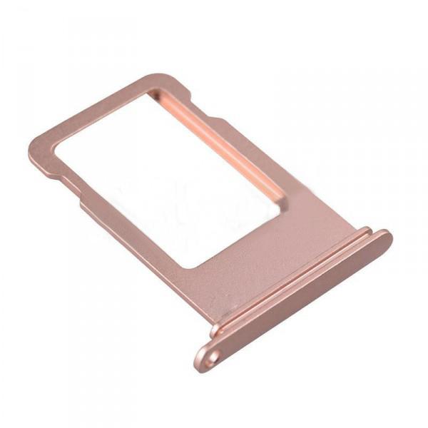 Держатель SIM-карты для iPhone 7 Plus, розовое золото orig