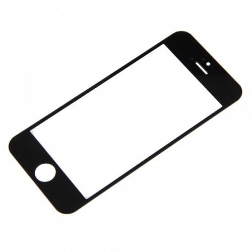 Стекло корпуса iPhone 5/5c/5s/SE black orig