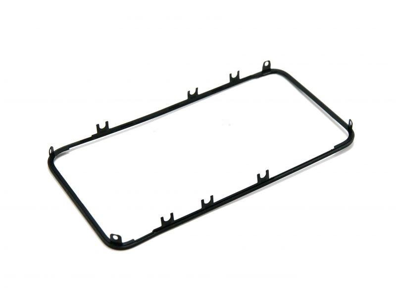 Рамка крепления дисплея iPhone 4 чёрная orig