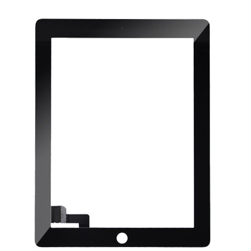 Сенсор (Touch screen) iPad 2 чёрный orig