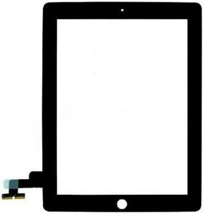 Сенсор (Touch screen) iPad 2 чёрный high copy