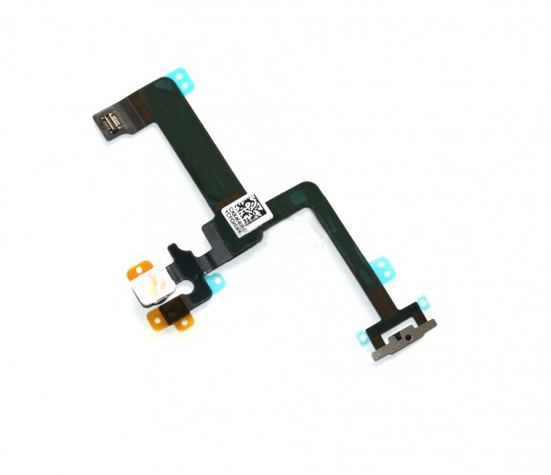 Шлейф (Flat cable) iPhone 6 Plus с кнопкой включения, вспышкой и микрофоном orig