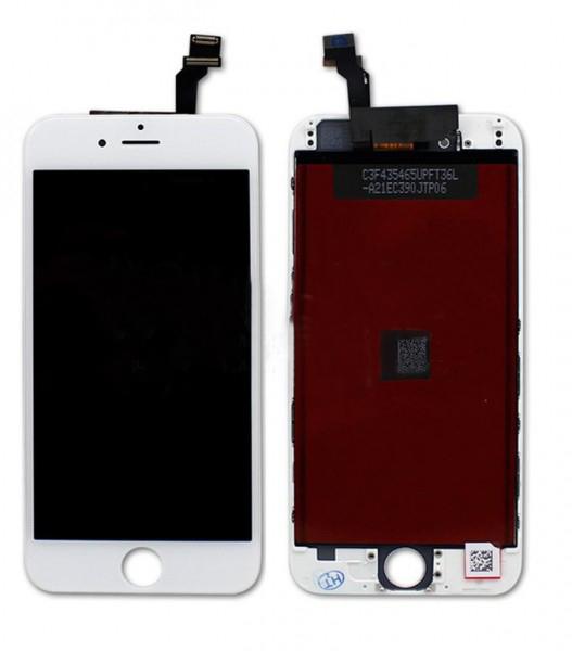 Дисплей iPhone 6 белый (LCD экран, тачскрин, стекло в сборе) high copy