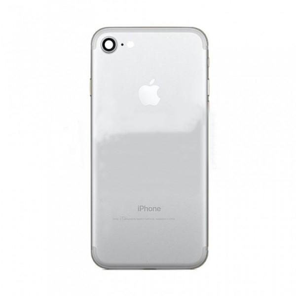 Задняя крышка корпус iPhone 7 серебро