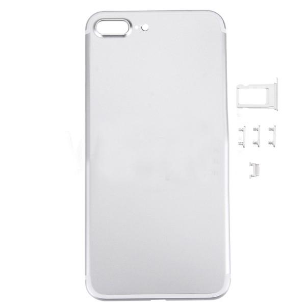 Задняя крышка корпус iPhone 7 Plus серебро