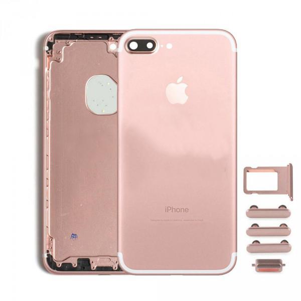 Задняя крышка корпус iPhone 7 Plus розовое золото