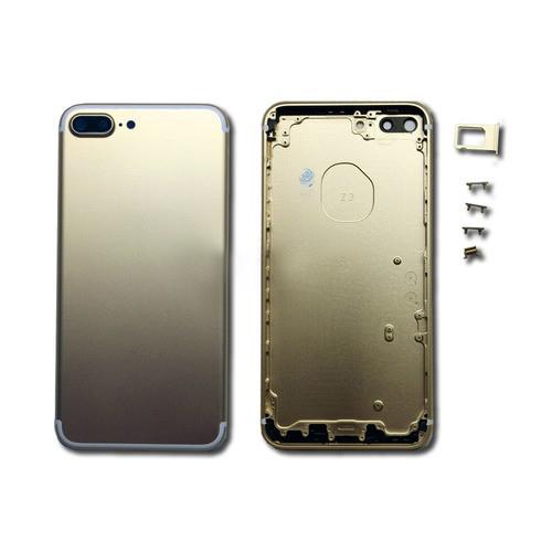 Задняя крышка корпус iPhone 7 Plus золотая