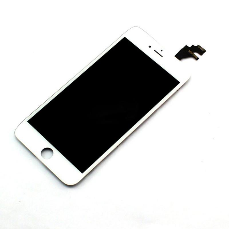 Оригинальный дисплей iPhone 6 Plus белый (LCD экран, тачскрин, стекло в сборе)