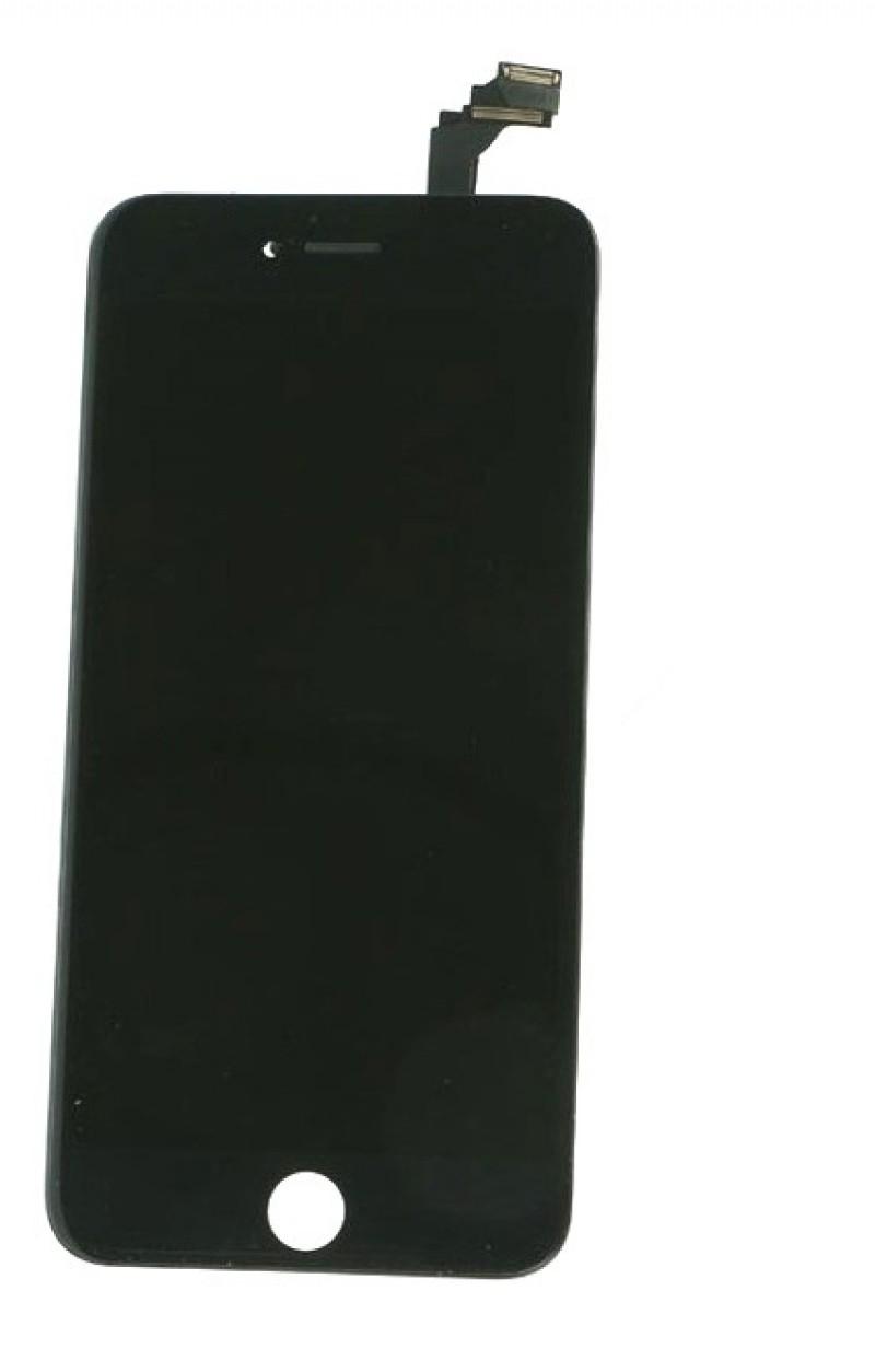Оригинальный дисплей iPhone 6 Plus черный (LCD экран, тачскрин, стекло в сборе)