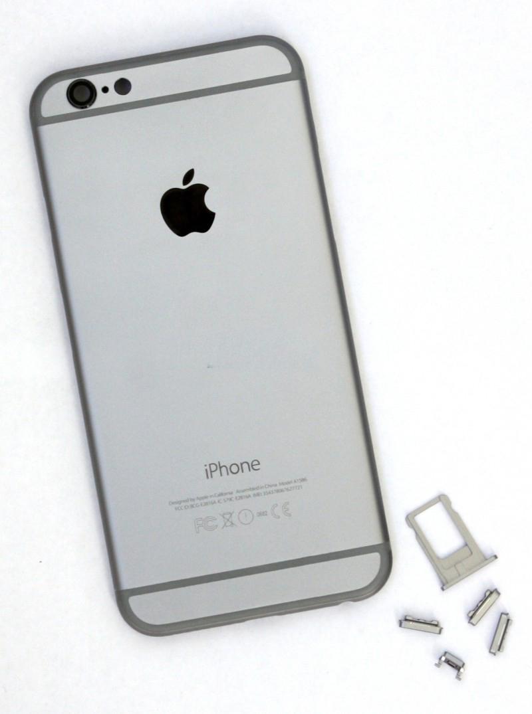 Задняя крышка корпус iPhone 6 темно-серая