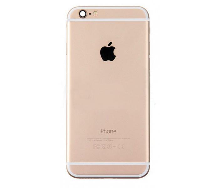 Задняя крышка корпус iPhone 6 золото