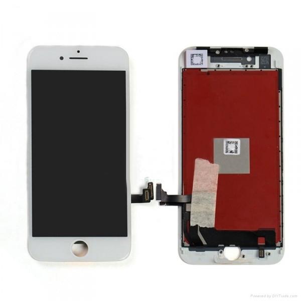 Дисплей iPhone 8 белый (LCD экран, тачскрин, стекло в сборе) high copy