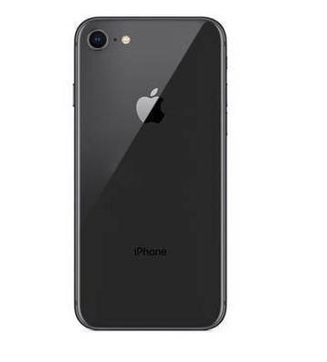 Задняя крышка корпус iPhone 8 черная