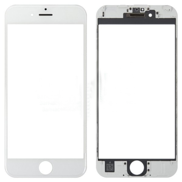 iPhone6S glass + ОСА Film white