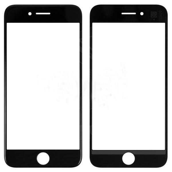 Стекло корпуса iPhone 7 + ОСА пленка black