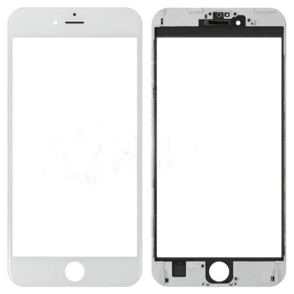 Стекло корпуса iPhone 6 Plus + ОСА пленка white