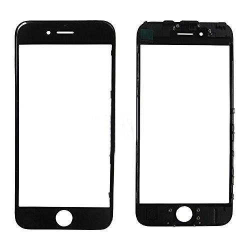 Стекло корпуса iPhone 6 Plus + ОСА пленка black