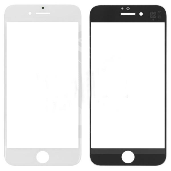 Стекло корпуса iPhone 7 + ОСА пленка white