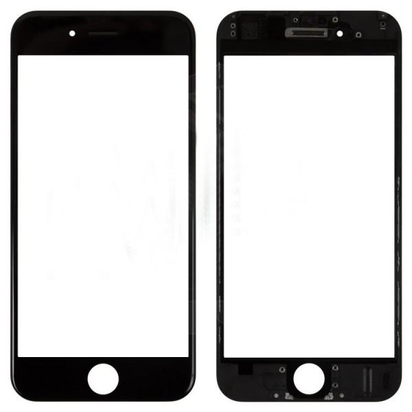 Стекло корпуса iPhone 6 + ОСА пленка black