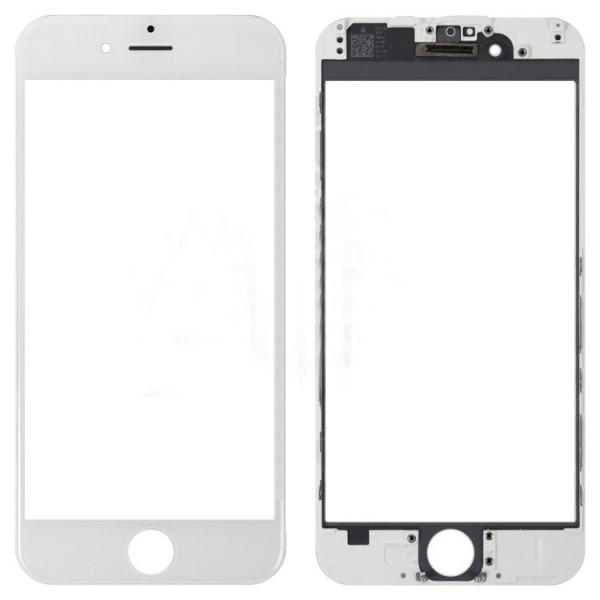 Стекло корпуса iPhone 6 + ОСА пленка white
