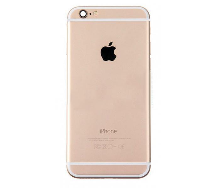 Задняя крышка корпус iPhone 6S золотая