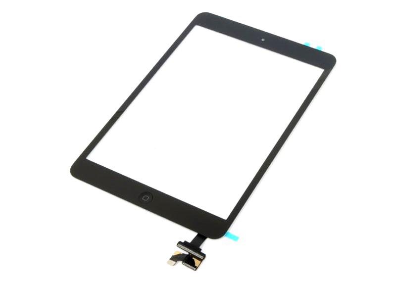 Сенсор (Touch screen) iPad mini/ iPad mini 2 Retina чёрный полный комплект high copy
