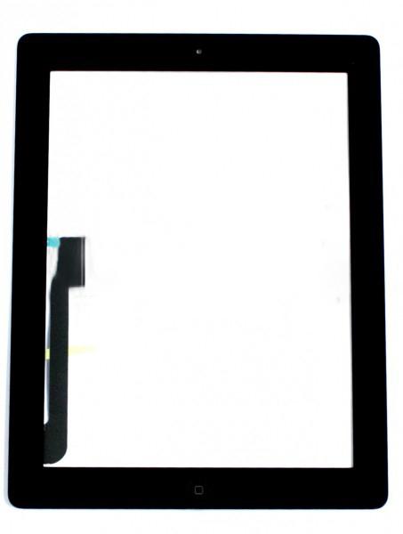 Сенсор (Touch screen) iPad 3/ iPad 4 черный полный комплект orig