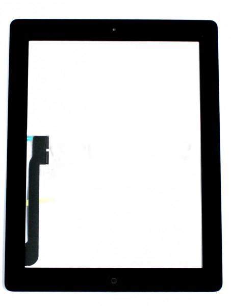 Сенсор (Touch screen) iPad 3/ iPad 4 черный полный комплект high copy