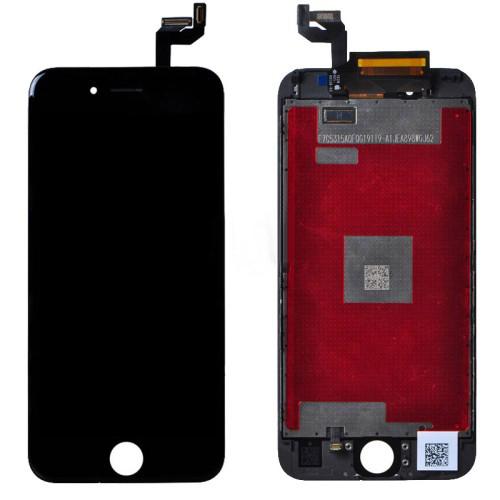 Дисплей iPhone 6S черный (LCD экран, тачскрин, стекло в сборе) high copy