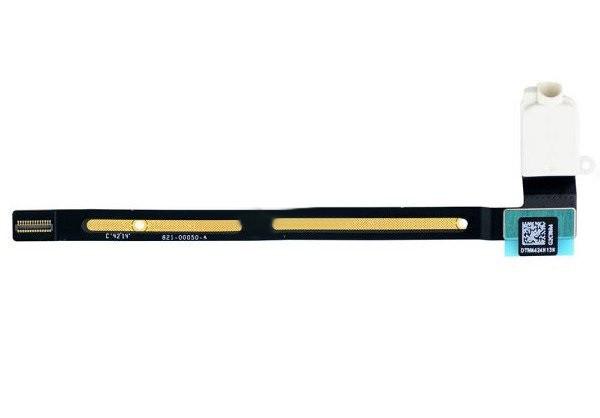 Шлейф (Flat cable) iPad Air 2 с конектором наушников белый orig