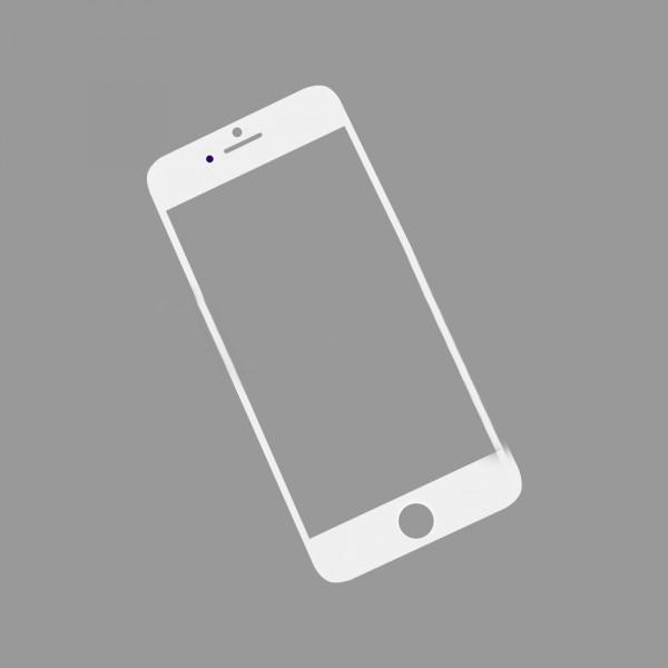 Стекло корпуса iPhone 6S white