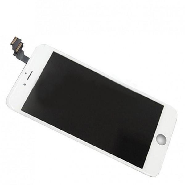 Дисплей iPhone 6 Plus белый (LCD экран, тачскрин, стекло в сборе) high copy