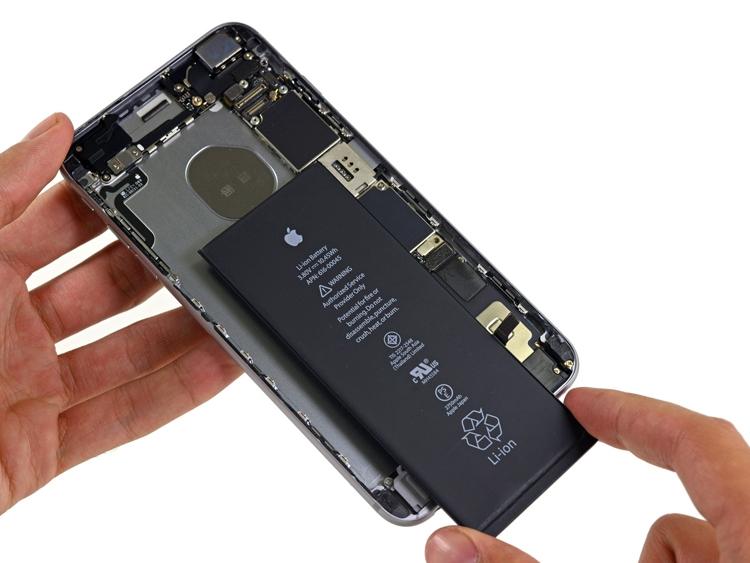 Аккумулятор iPhone 6S Plus (батарея, АКБ) high copy