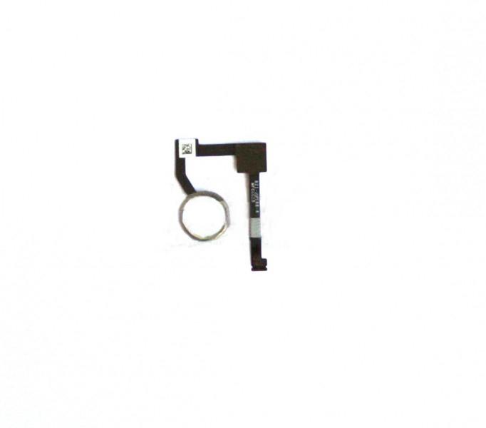 Шлейф (Flat cable) iPad Air 2 c кнопкой Home с компонентами белый