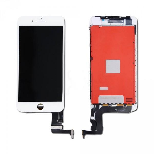 Дисплей iPhone 8 Plus белый (LCD экран, тачскрин, стекло в сборе) high copy