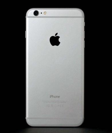 Задняя крышка корпус iPhone 6 Plus 5.5 серебро