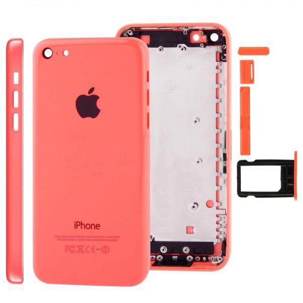 Задняя крышка корпус iPhone 5C красная orig